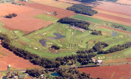 Hidden Creek GC: Aerial view