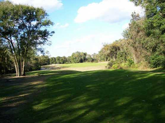 A view of the 9th fairway at River Bend Golf Club