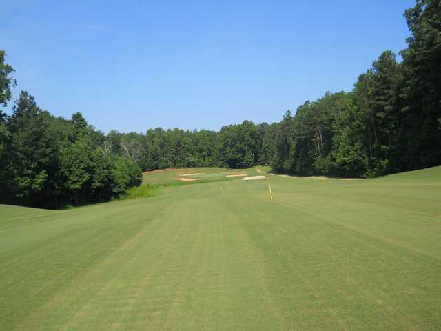 A view from a fairway at St. Andrews Country Club