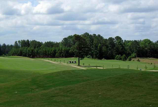 A view from a tee at St. Andrews Country Club
