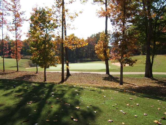 A fall view from St. Andrews Country Club