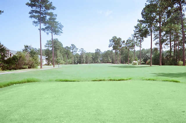 A view from the 13th tee at Heron Point Golf Club
