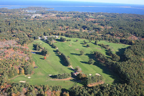 Aerial view from North Hill Country Club