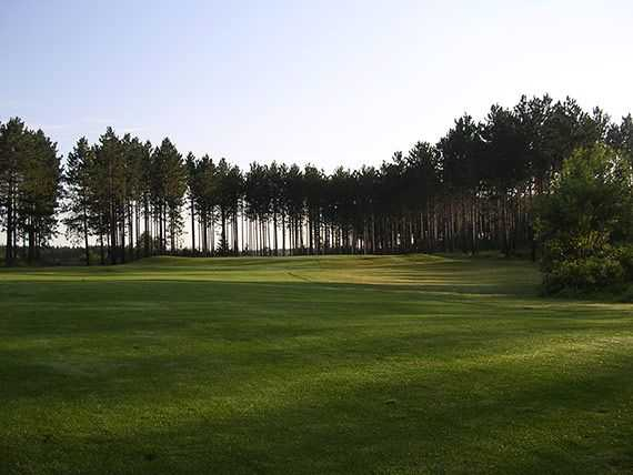 A view from a fairway at Hayward National Golf Club