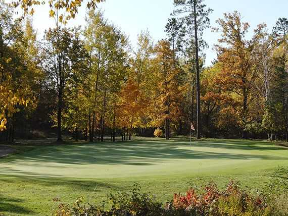 A fall view from Hayward National Golf Club