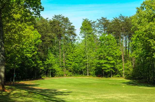 A view of hole #3 at Front from Rolling Green Golf Club