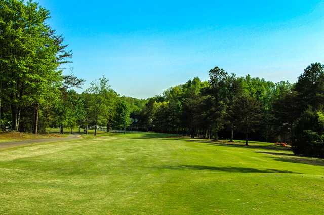 A view from fairway #5 at Front from Rolling Green Golf Club