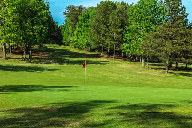 A view of the 7th hole at Front from Rolling Green Golf Club
