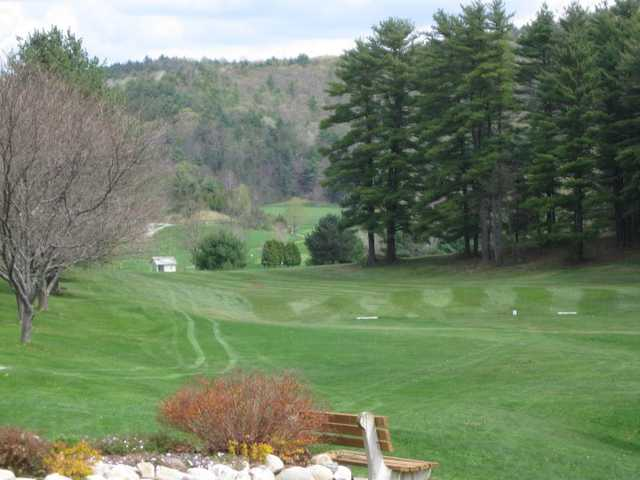 A view of the 1st fairway at Lake St. Catherine Country Club