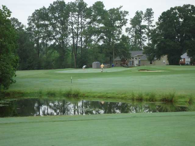 A view over the water from Abita Springs Golf & Country Club