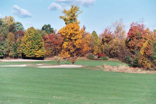 A view from a fairway at Cherry Wood Golf Course