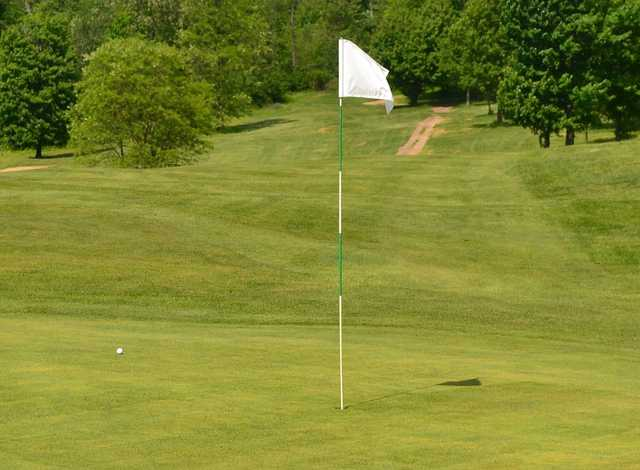 A view of the 4th hole at Cherry Wood Golf Course