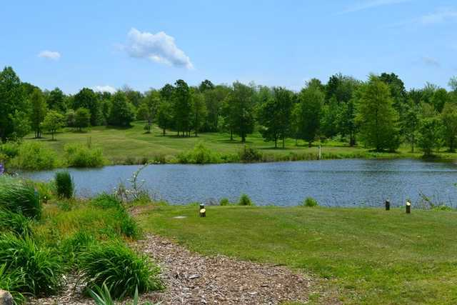 A view from tee #16 at Cherry Wood Golf Course
