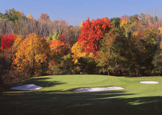 A view of hole #4 at River Vale Country Club