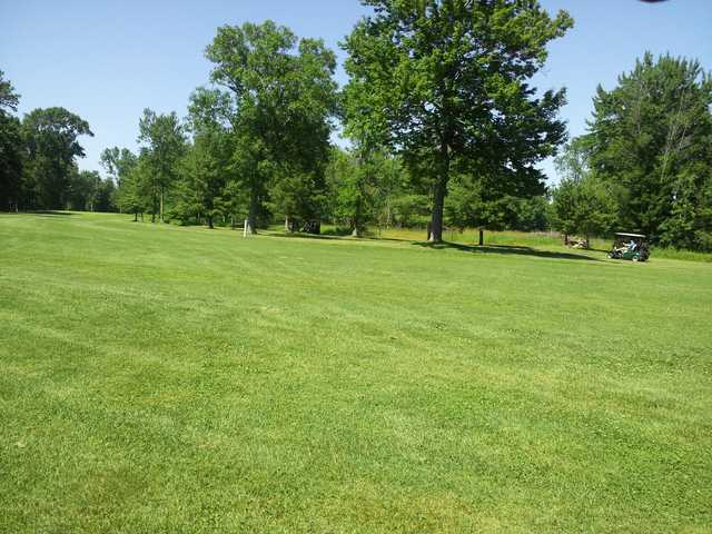 A view of a fairway at North Shore Golf Club