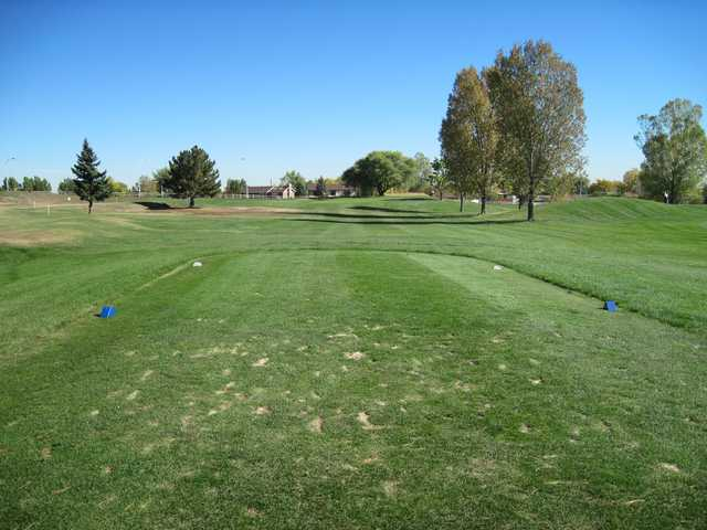 A view from a tee at Greenway Park Golf Course