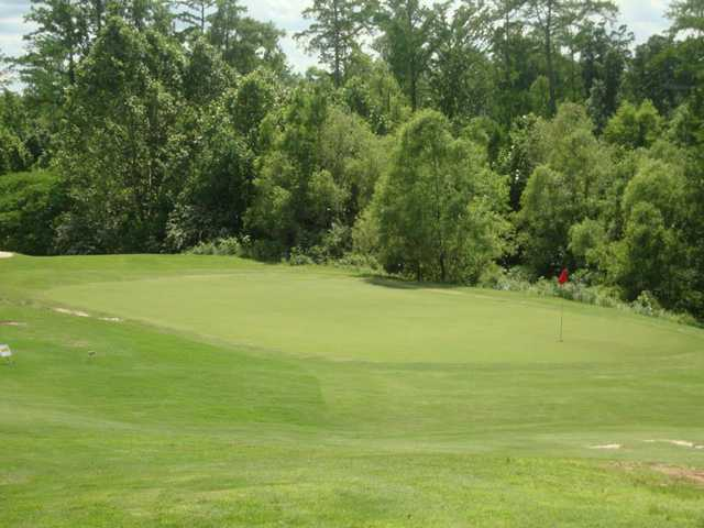 A view of hole #10 at Bent Tree Golf Club.