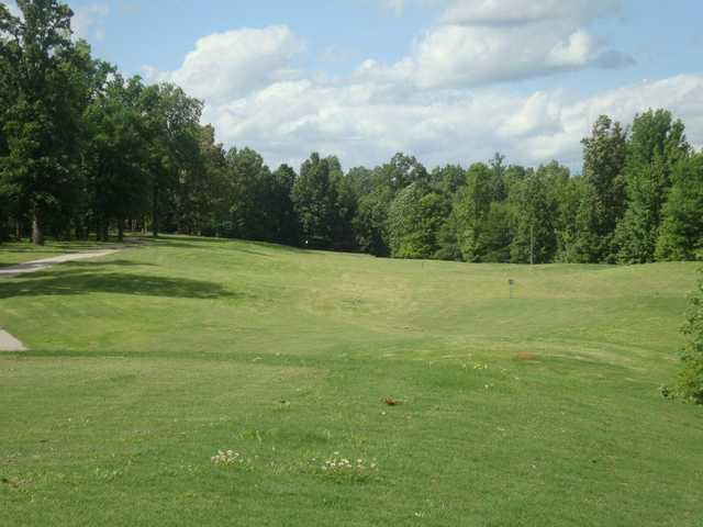 A view of a fairway at Bent Tree Golf Club