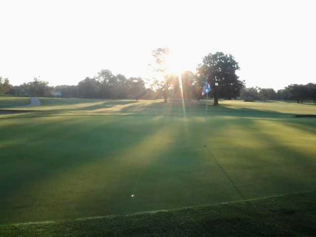 A sunny day view from Fresh Meadow Golf Course