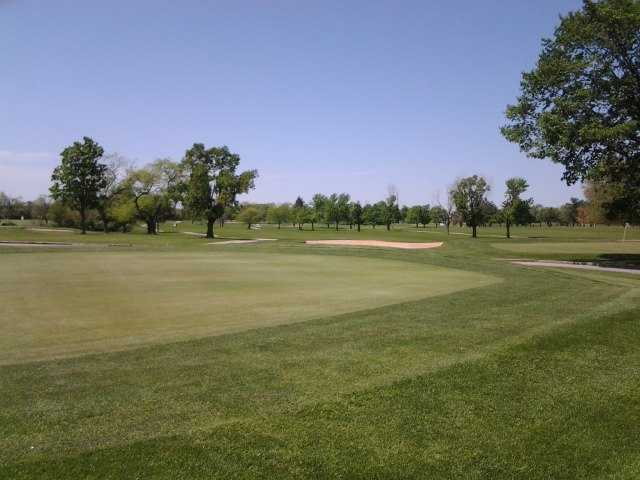 A warm day view from Fresh Meadow Golf Course