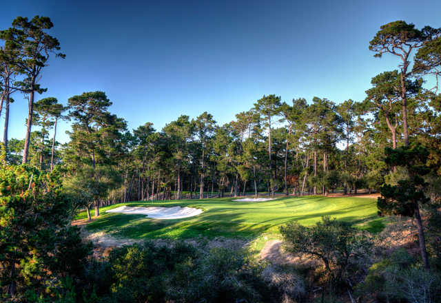 Poppy Hills GC: 2nd green
