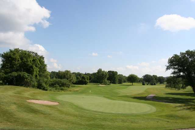 A view of a green at Cannon Golf Club