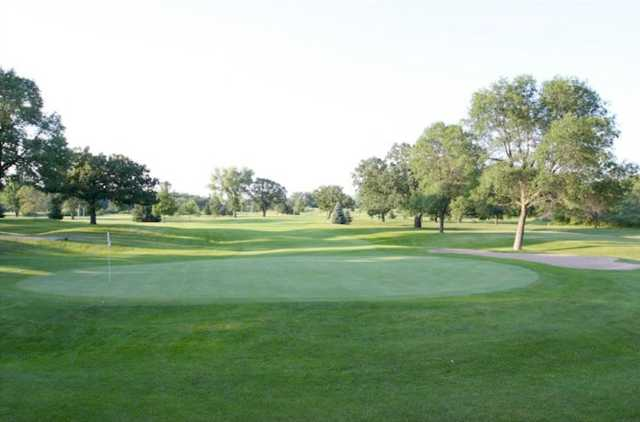A view of the 14th hole at Cannon Golf Club