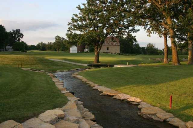 A view of the 18th green at Summit Golf Club