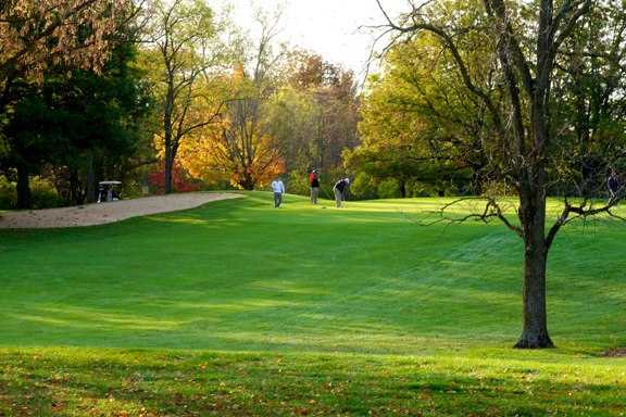 A view of a fairway at Hueston Woods Golf Course (Fred Russell)
