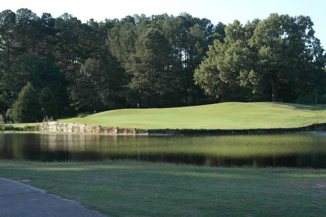 A view of a hole at LinRick Golf Course