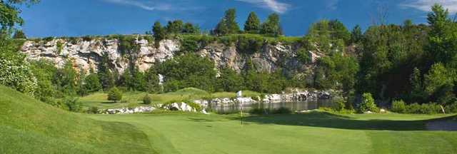 A view of hole #2 at Crystal Springs