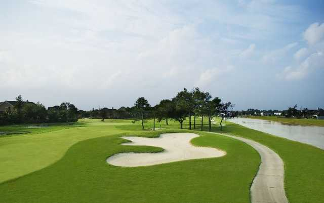 A view of fairway #11 at Championship Course from Stonebridge Golf Club of New Orleans
