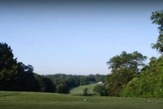 A view from Black at D. Fairchild Wheeler Golf Course