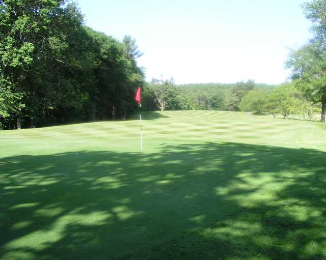 A view of the 7th hole at Ellinwood Country Club