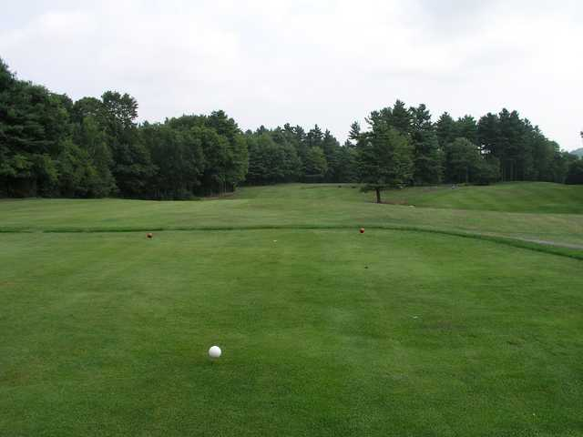 A view from the 15th tee at Ellinwood Country Club