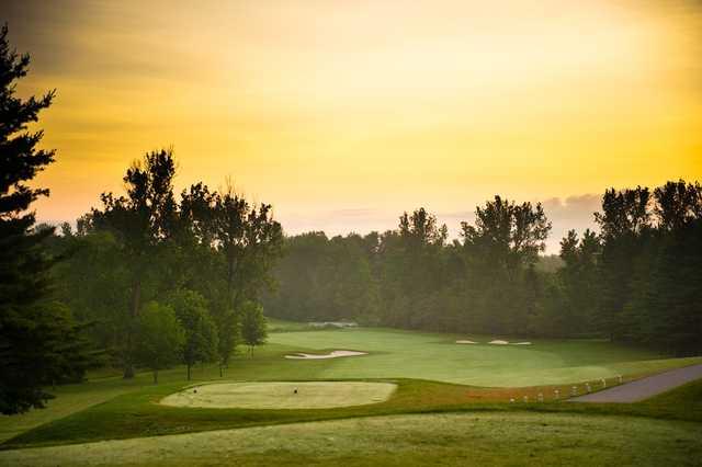 A view from tee #1 at Craigowan Golf Club.