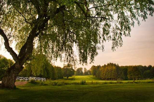 A view of the 2nd fairway at Craigowan Golf Club.