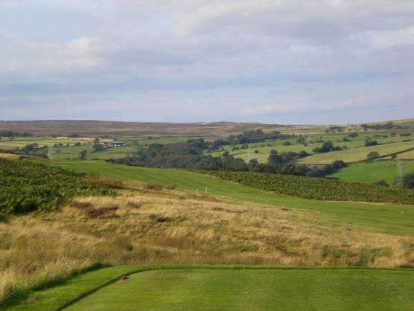 A view from tee #3 at Baildon Golf Club