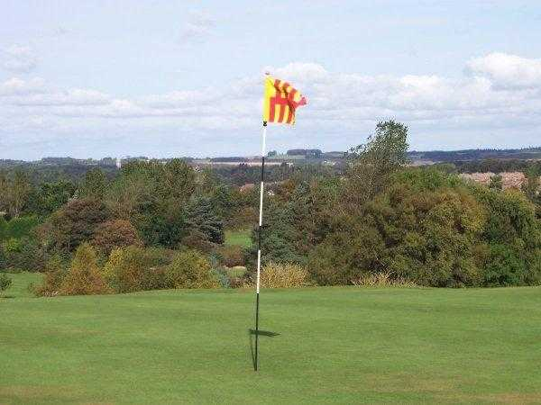 A view of hole #1 at Morpeth Golf Club