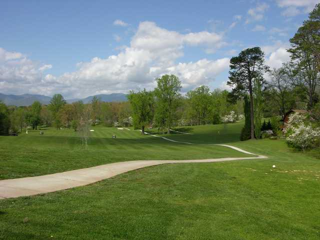 A view from Franklin Golf Course