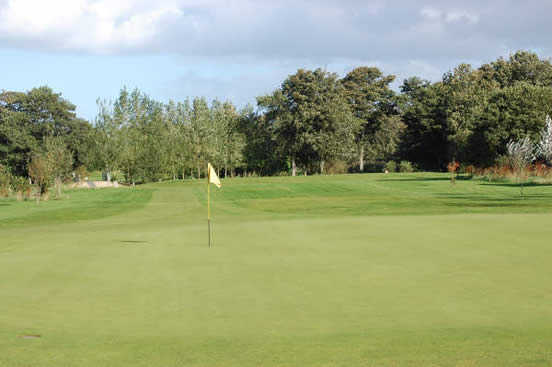 A view of the 4th hole at Garmouth & Kingston Golf Club