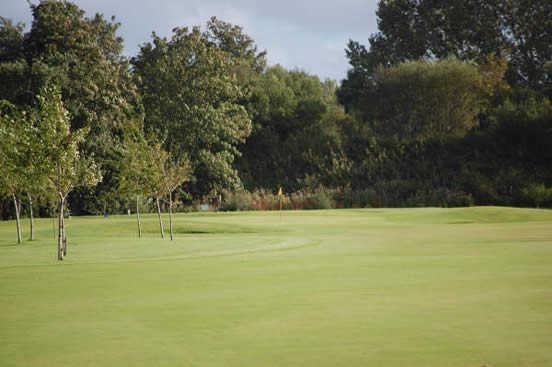 A view from fairway #6 at Garmouth & Kingston Golf Club