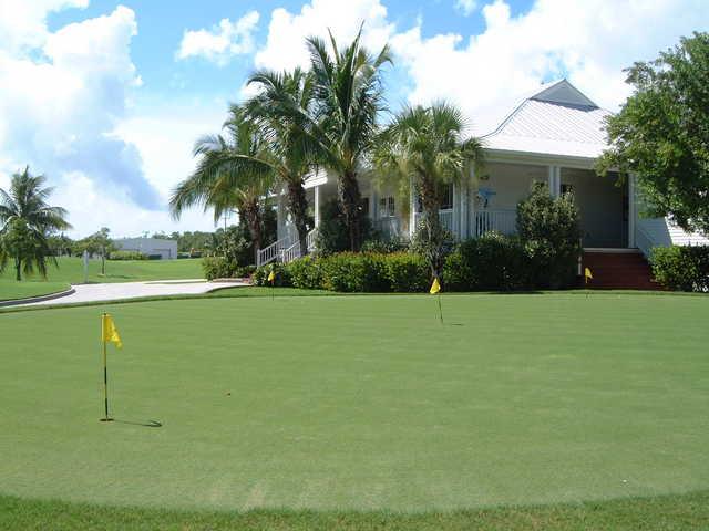 Key West Golf Club: The clubhouse