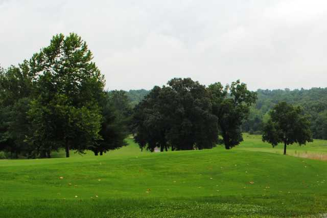 A cloudy view from Piney Valley Golf Course