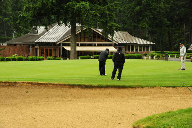 A view from Whispering Firs Golf Club