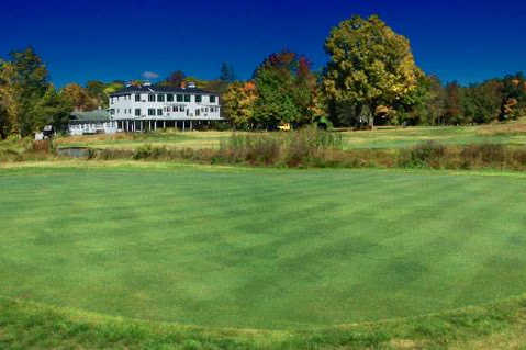 A view of the 5th hole at Cliff Park Inn & Golf Course