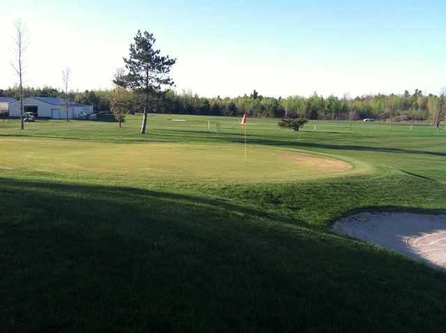 A view of the 9th green at North Country Golf Club