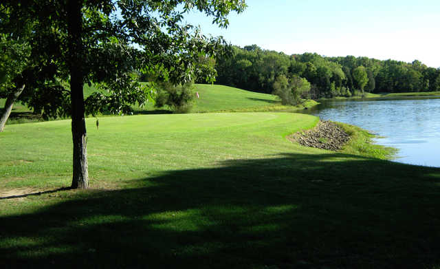 A view of a green at Vineyard Golf Course