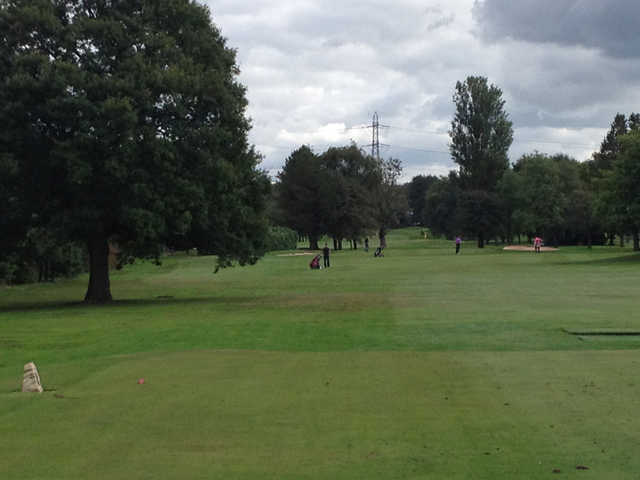 A view from the 13th tee at Hazel Grove Golf Club