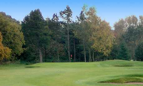 A view from a fairway at Bromborough Golf Club